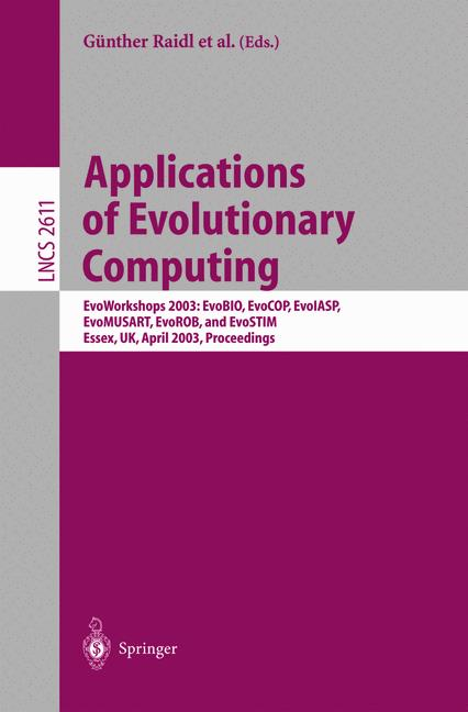 Cover of 'Applications of Evolutionary Computing'