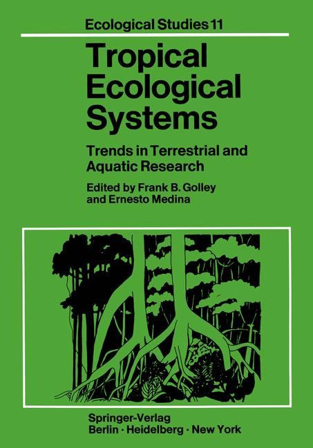 Cover of 'Tropical Ecological Systems'