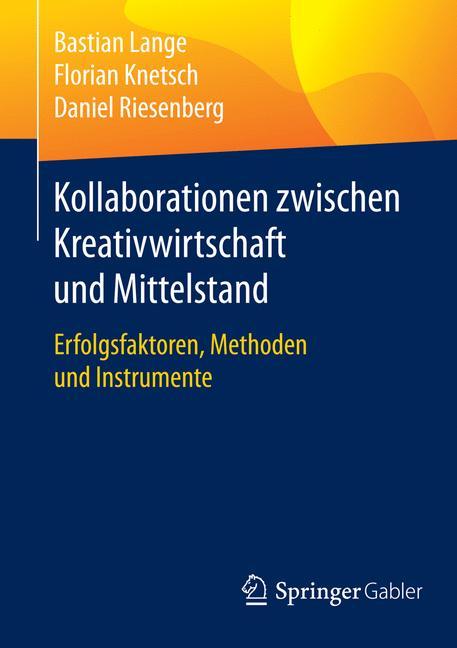 Cover of 'Kollaborationen zwischen Kreativwirtschaft und Mittelstand'