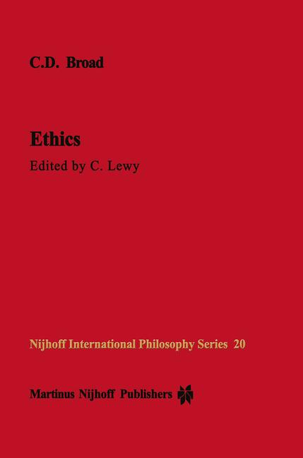 Cover of 'Ethics'