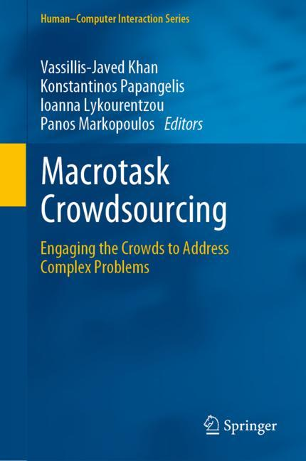 Cover of 'Macrotask Crowdsourcing'