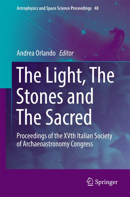 Cover of 'The Light, The Stones and The Sacred'