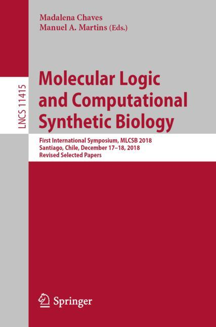 Cover of 'Molecular Logic and Computational Synthetic Biology'