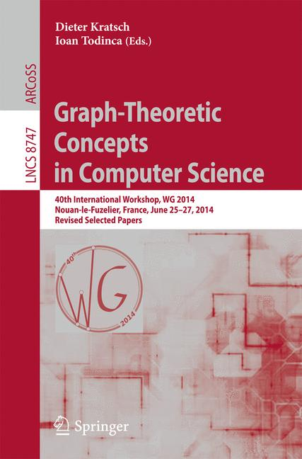 Cover of 'Graph-Theoretic Concepts in Computer Science'