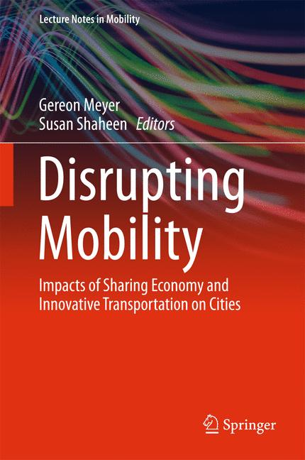 Cover of 'Disrupting Mobility'