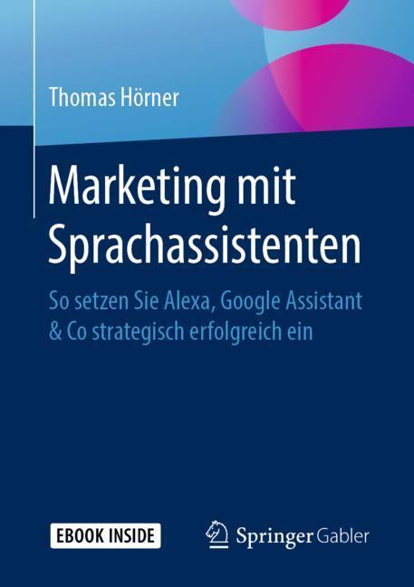 Cover of 'Marketing mit Sprachassistenten'