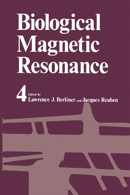 Cover of 'Biological Magnetic Resonance'
