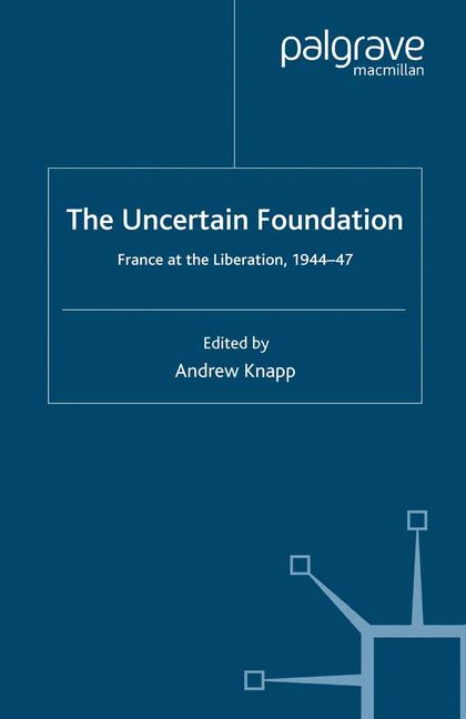 Cover of 'The Uncertain Foundation'