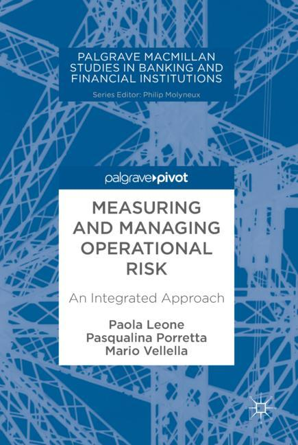 Cover of 'Measuring and Managing Operational Risk'