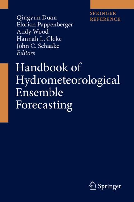 Cover of 'Handbook of Hydrometeorological Ensemble Forecasting'