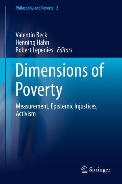Cover of 'Dimensions of Poverty'