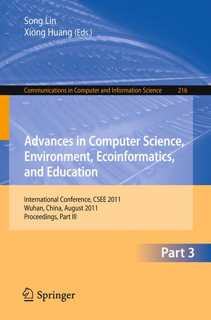 Cover of 'Advances in Computer Science, Environment, Ecoinformatics, and Education'