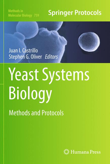 Cover of 'Yeast Systems Biology'