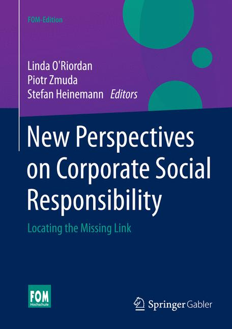 Cover of 'New Perspectives on Corporate Social Responsibility'