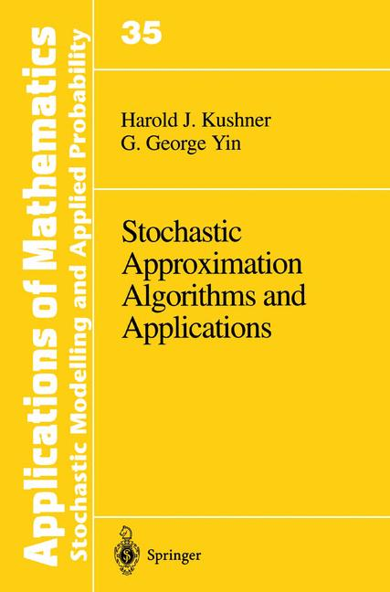 Cover of 'Stochastic Approximation Algorithms and Applications'
