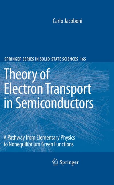Cover of 'Theory of Electron Transport in Semiconductors'