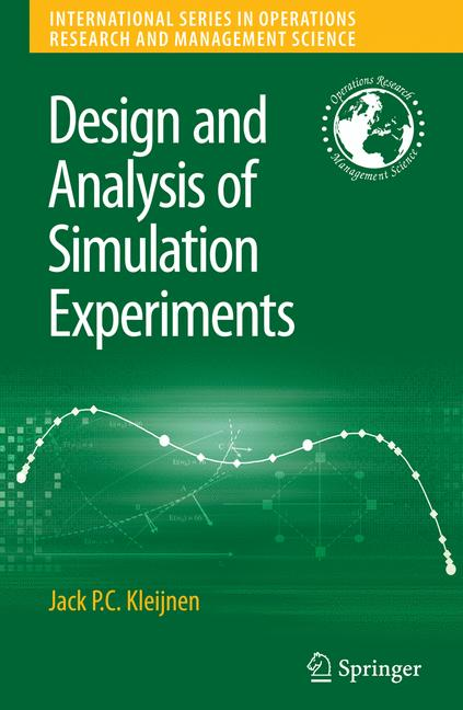 Cover of 'Design and analysis of simulation experiments'