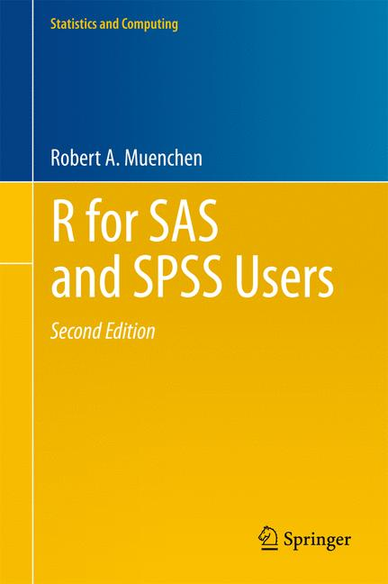 Cover of 'R for SAS and SPSS Users'