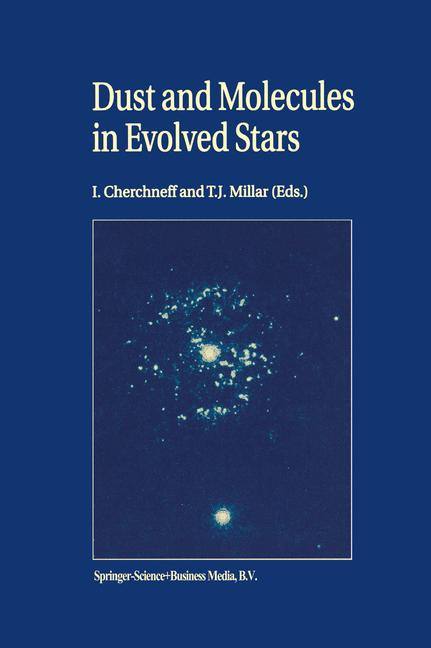 Cover of 'Dust and Molecules in Evolved Stars'