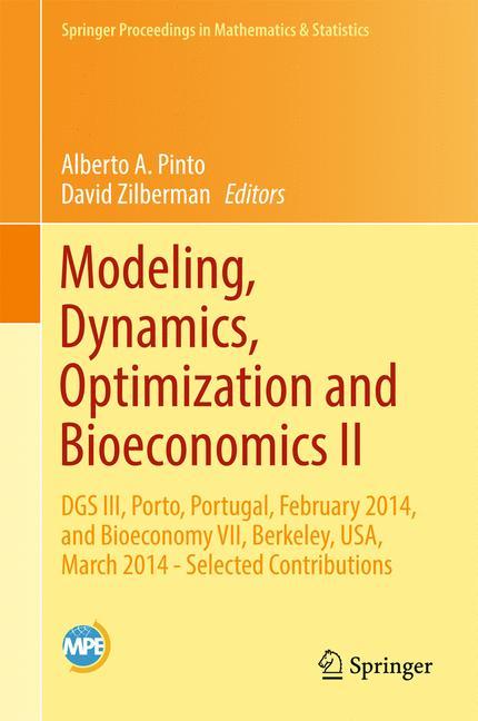 Cover of 'Modeling, Dynamics, Optimization and Bioeconomics II'