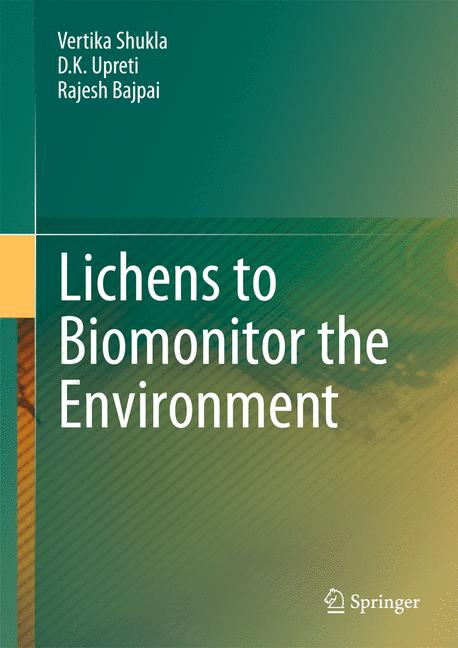 Cover of 'Lichens to Biomonitor the Environment'