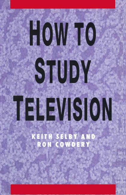 Cover of 'How to study television'