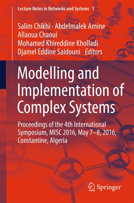 Cover of 'Modelling and Implementation of Complex Systems'