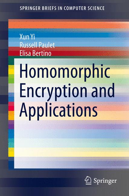 Cover of 'Homomorphic Encryption and Applications'