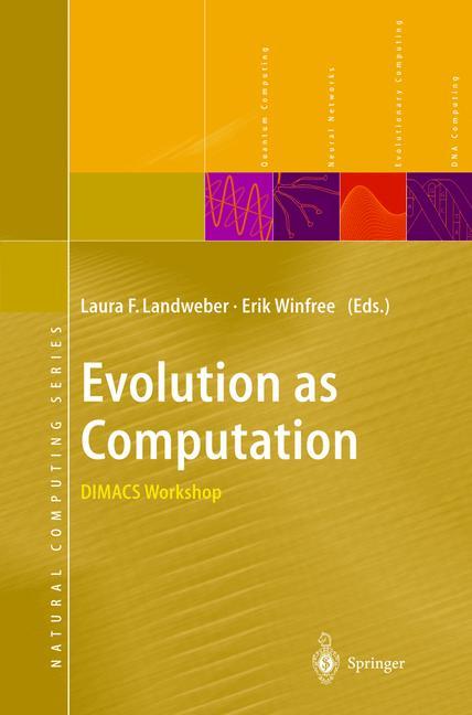 Cover of 'Evolution as Computation'