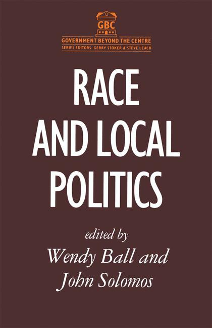 Cover of 'Race and Local Politics'