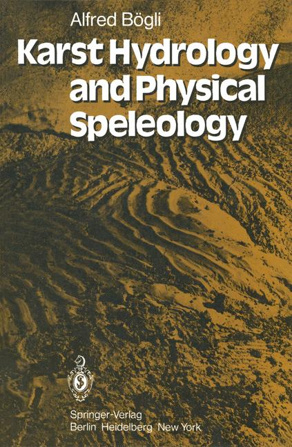 Cover of 'Karst Hydrology and Physical Speleology'