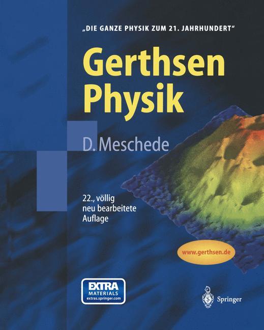 Cover of 'Gerthsen Physik'