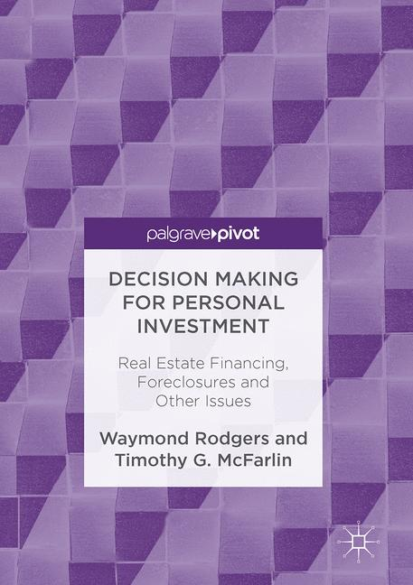 Cover of 'Decision Making for Personal Investment'