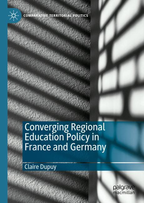 Cover of 'Converging Regional Education Policy in France and Germany'