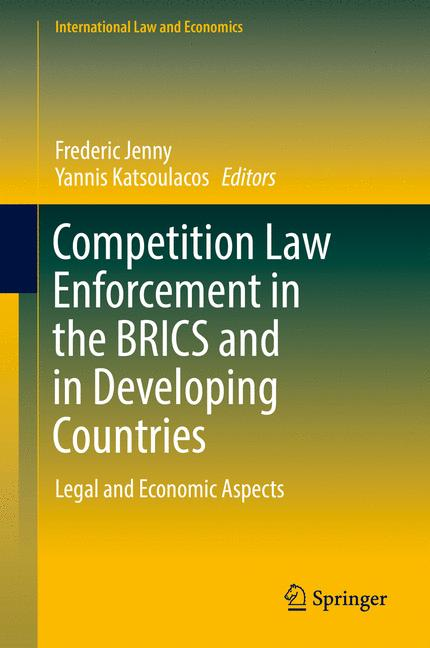 Cover of 'Competition Law Enforcement in the BRICS and in Developing Countries'