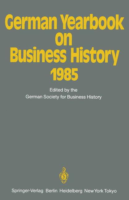 Cover of 'German Yearbook on Business History 1985'