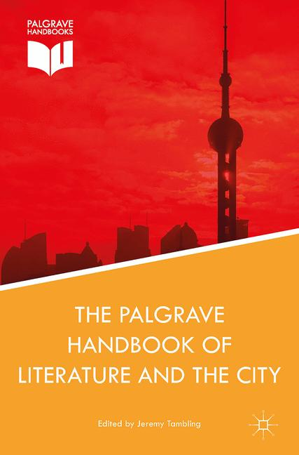 Cover of 'The Palgrave Handbook of Literature and the City'