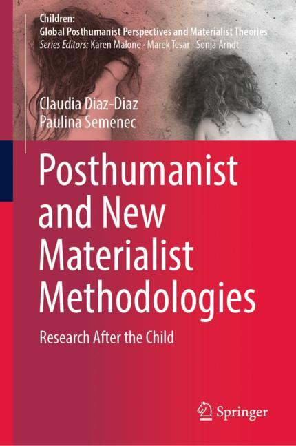 Cover of 'Posthumanist and New Materialist Methodologies'