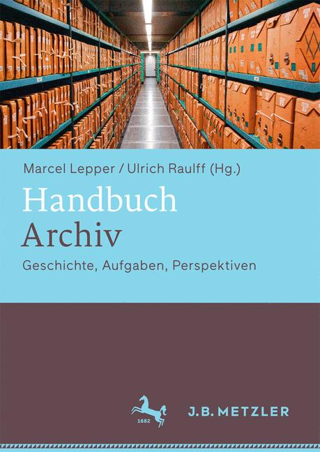 Cover of 'Handbuch Archiv'