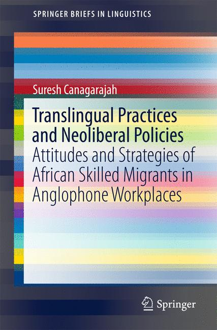 Cover of 'Translingual Practices and Neoliberal Policies'