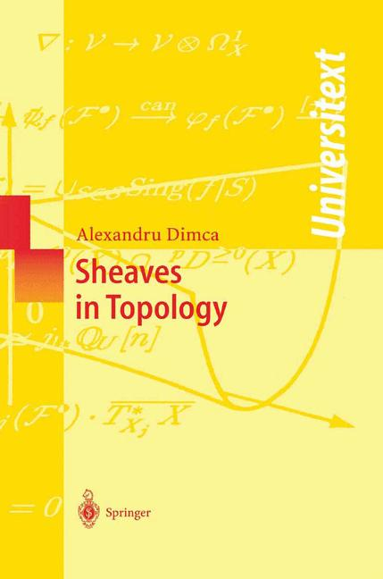 Cover of 'Sheaves in Topology'