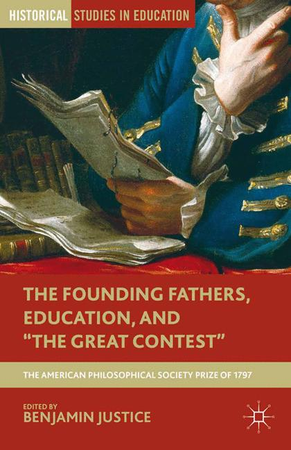 """Cover of 'The Founding Fathers, Education, and """"The Great Contest""""'"""
