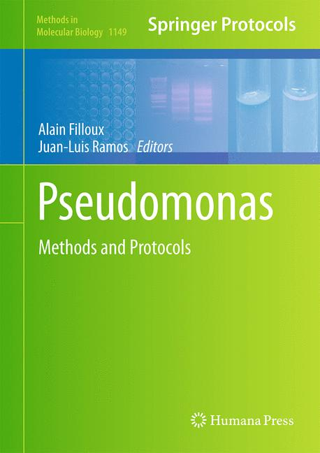 Cover of 'Pseudomonas Methods and Protocols'
