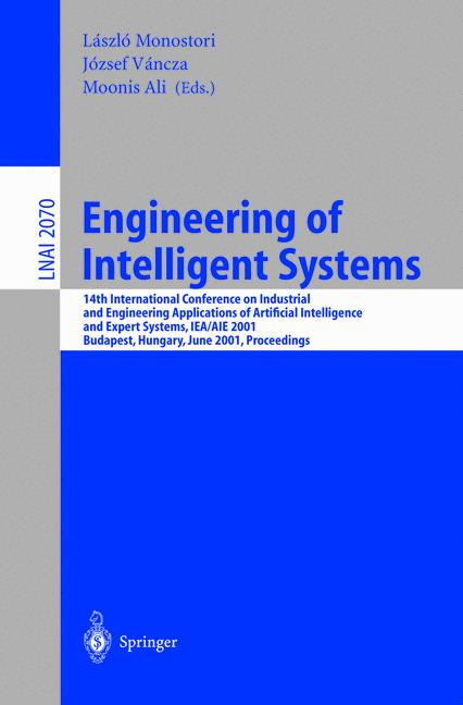 Cover of 'Engineering of Intelligent Systems'