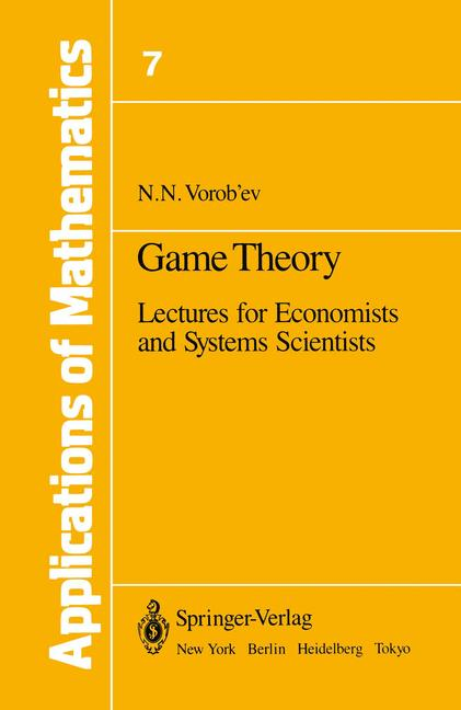 Cover of 'Game Theory'