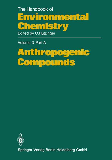 Cover of 'Anthropogenic Compounds'