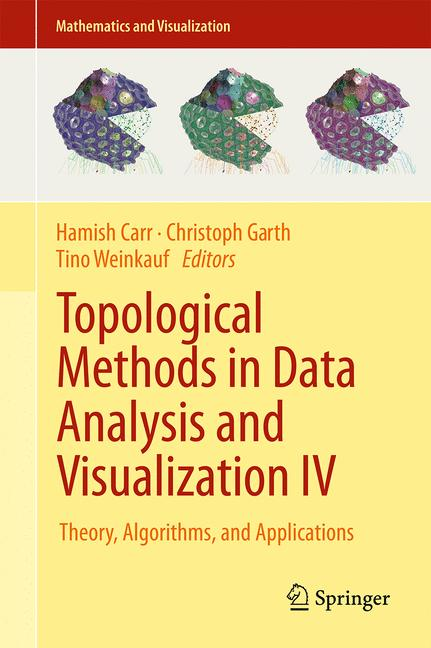 Cover of 'Topological Methods in Data Analysis and Visualization IV'