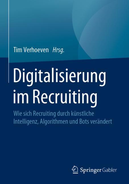 Cover of 'Digitalisierung im Recruiting'