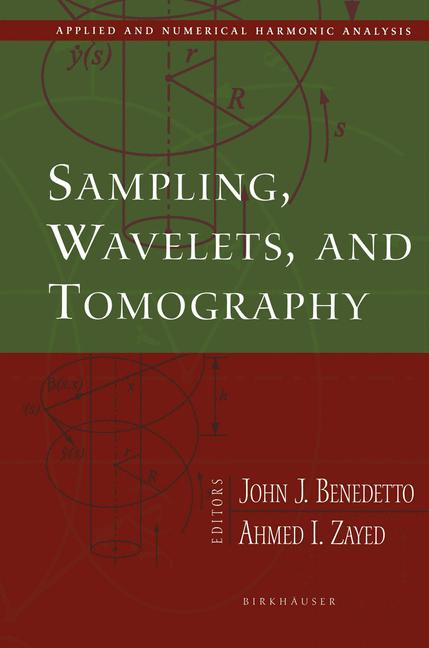 Cover of 'Sampling, Wavelets, and Tomography'