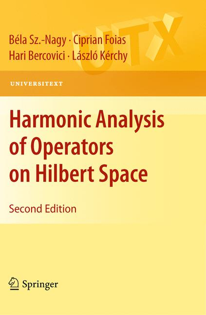 Cover of 'Harmonic Analysis of Operators on Hilbert Space'